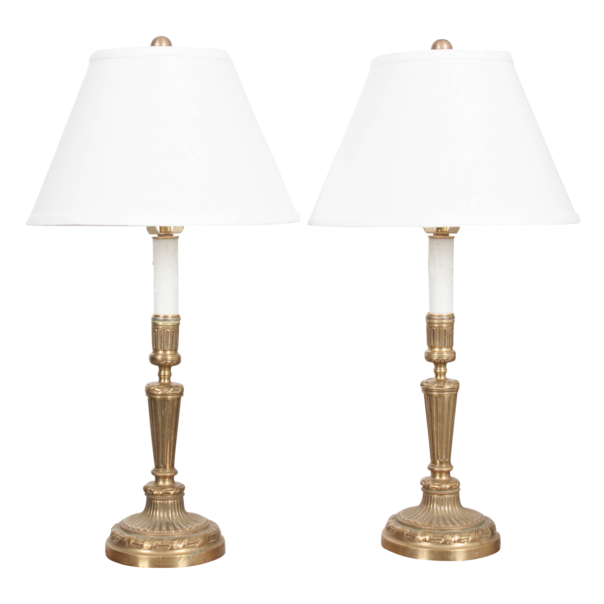 Louis Xvi Style Br Candlestick