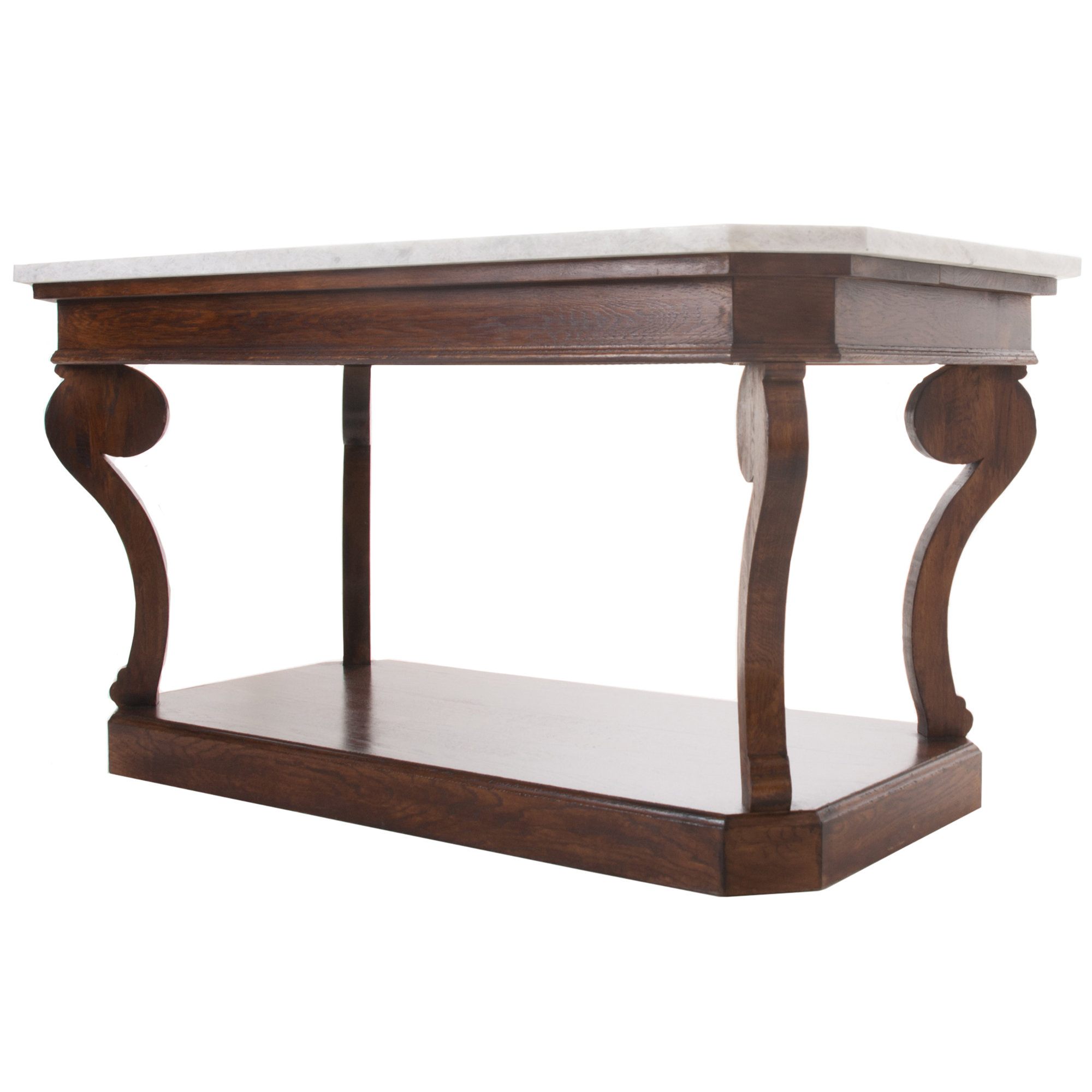 French Restoration Style Center Table